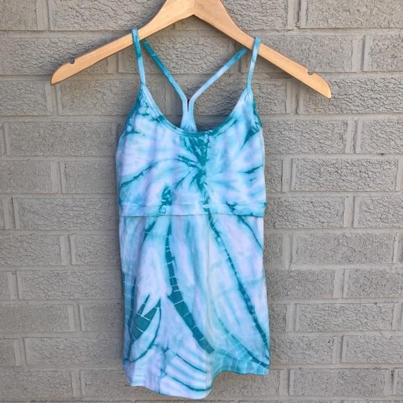 Hard Tail Tops - Hard Tail Y Back Strap Tie Dye Tank